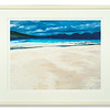 Sands of Luskentyre, print by David Henderson