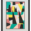 Abstract artwork print by Alex