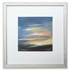 "10"" x 10"" acrylic artwork on canvas board, Sun Rise before Ben Kilbreck by Helena Barnes"