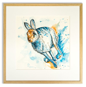Original of a Hare by Natalie Croft Art