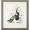 Watercolour of Lapwing by Scottish Artist Mike Ross