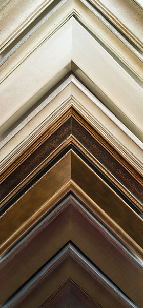 A few of our wood mouldings.