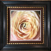 """Ranunculus 163"" ~ Watercolor Paper.  Enhanced with Encaustics and Oil Pastels"