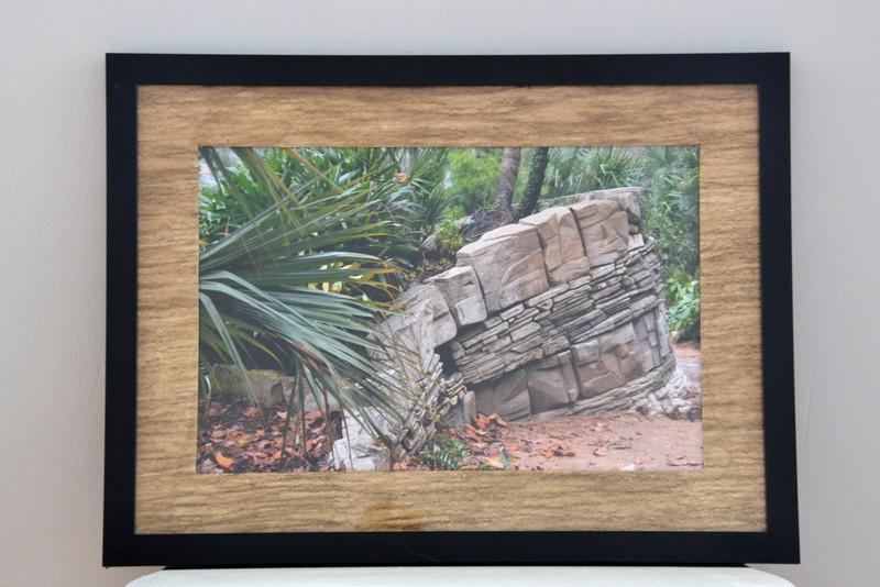 166 framed