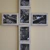 #1 Crucifixion (center)<br /> <br /> [First Presbyterian Church, Evanston:  March 2013]<br /> [Harbor Light:  Permanent loan]