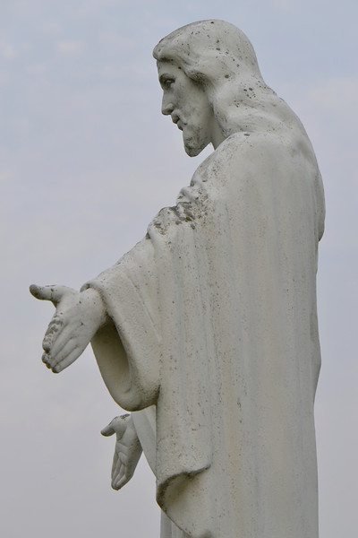 57  Jesus Comforts the Grieving (right photo)