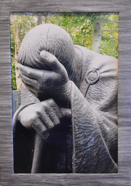 57  Jesus Comforts the Grieving (left framed)