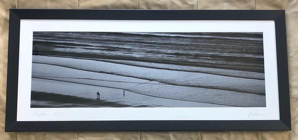 Sandy Steps, Black Frame 16X40 - $440 NZD