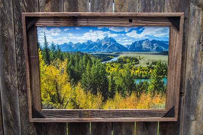 "Snake River Overlook, Tetons, 20x30"""