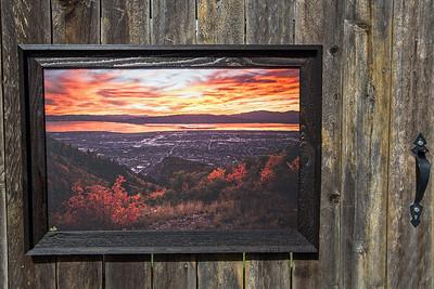 """Utah Valley Overlook, 20x30"""""""