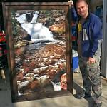 "Upper Provo Falls, 36x60"""