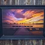 "Provo Boat Harbor Sunset, 20x30"""