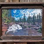"Upper Provo Falls, 12x18"""