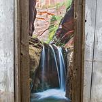 "Veiled Falls, Zion NP 18x44"""