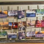 Post Card Rack