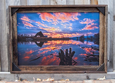 "Provo River Sunset, 20x30"""