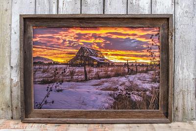 "Mapleton Barn 2014, 20x30"""