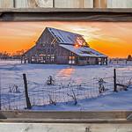 "Mapleton Barn 2013, 20x30"""