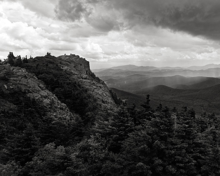 Rain Over Grandfather Mountain
