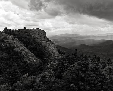Rain Over Grandfather Mountain