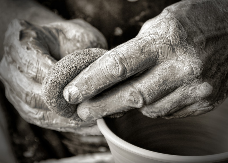 The Potter's Hands II