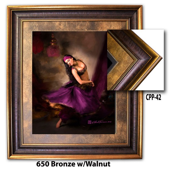650 Bronze w Walnut