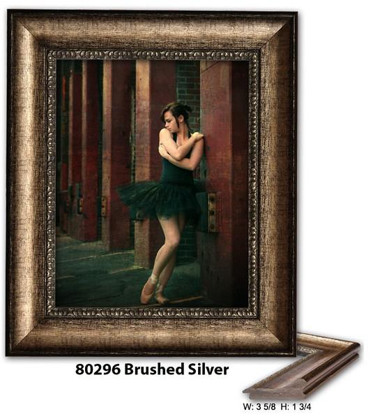 80296 Brushed Silver - Amberwood