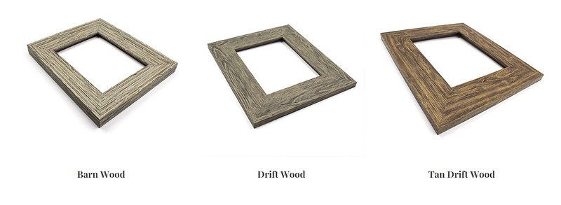 RUSTIC FRAMES   $25 additional fee