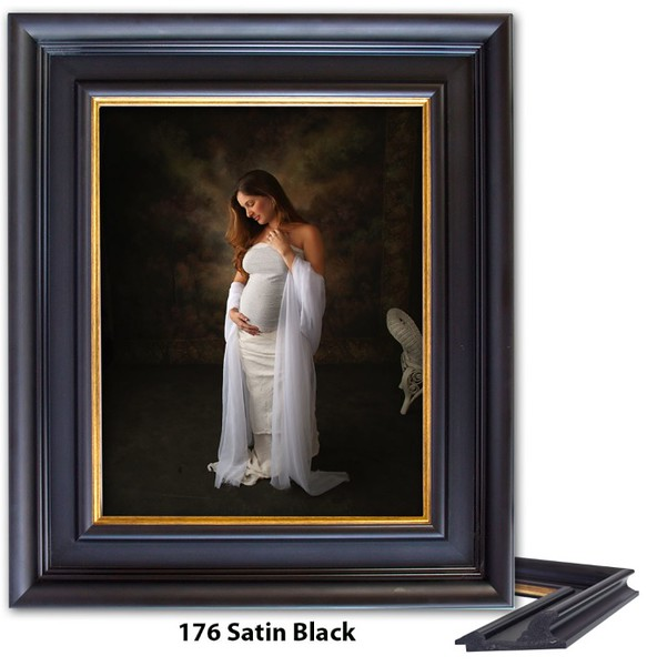 176 Satin Black - Amberwood