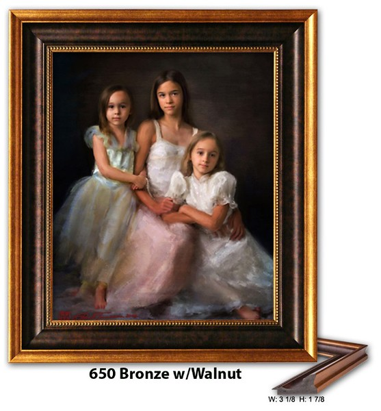 650 Bronze w Walnut - Amberwood