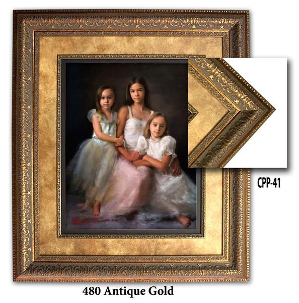 480 Antique Gold