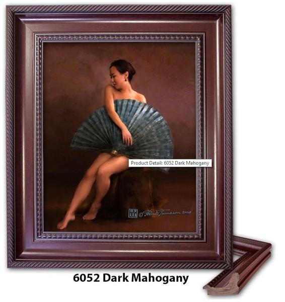 6052 Dark Mahogany - Amberwood