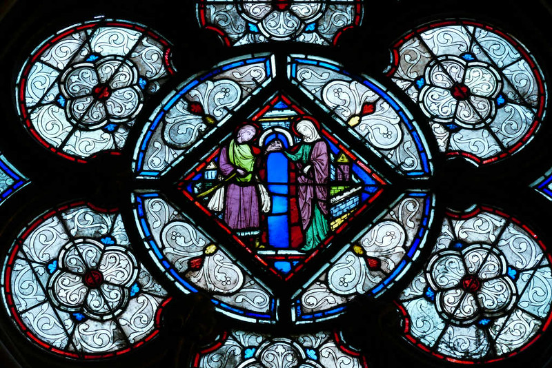 Vitral da Sainte Chapelle