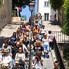 Escadaria em Montmartre