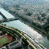 Vista Aérea do Rio Sena