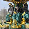 Fonte na Place de la Concorde