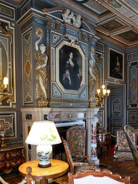 Interior do Palácio de Cheverny