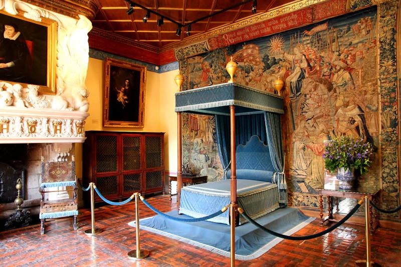 Interior do Palácio de Chenonceau