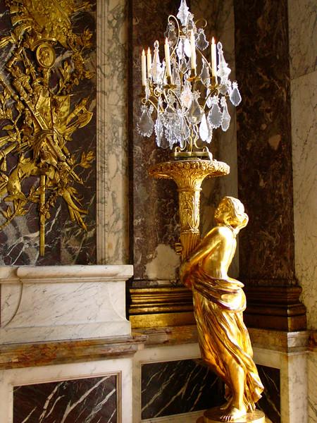 Interior do Palácio de Versalhes