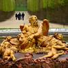 Fonte no Jardim do Palácio de Versalhes