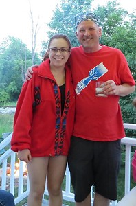 July 4, 2014 with Uncle Joe in Glenwillow, OH