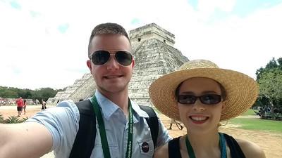Mexican Honeymoon at Vidante Resort in Maya Riveria  - Mayan Ruins  Chichen Itza 7/14/2017