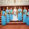 The Bridemaids:  Jaami Hunter, Lexi Menasion, Elizabeth Biaglow, Allison Biaglow-Duniec, Samantha Pavone, Jules Pangborn-Harley, Jessica Dunn