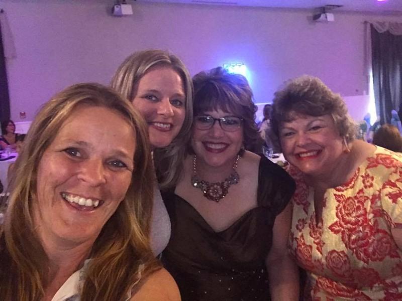 Jennifer, Valoree, Fran and Margie