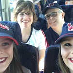 Going to the Cleveland Indians game via charter bus - June 28, 2017