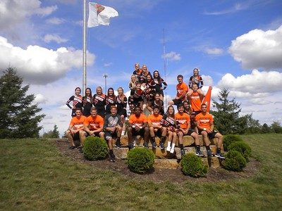 Ohio Northern Cheer Squad - September 12, 2015