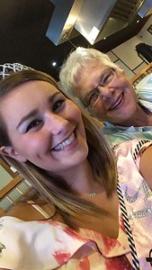 Grandma came to celebrate Elizabeth's 21st birthday in Wapakoneta, OH!  August 27, 2017