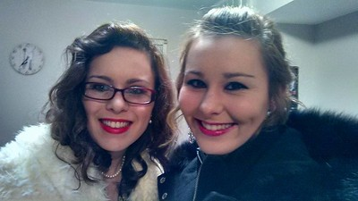 Sisters on New Year's Eve 2016