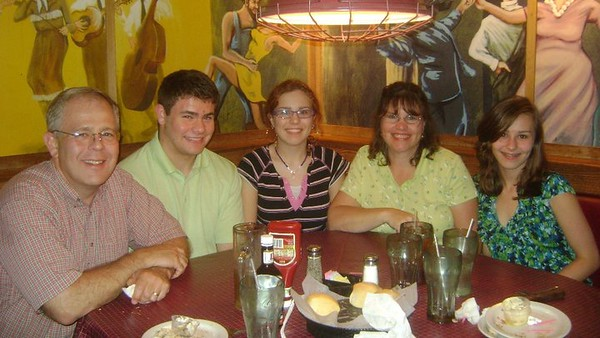 June 11, 2011 - celebrating  John Robert's 18th  birthday