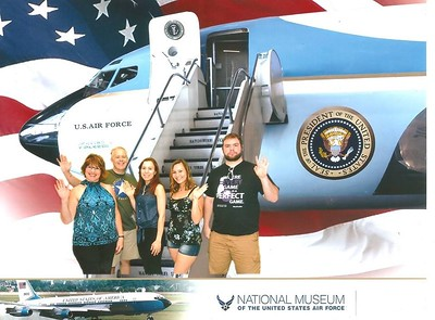 Father's Day  June 20, 2017 at Wright Patterson Air Force Base Museum
